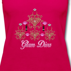 Glam Diva - Women's Premium Tank Top