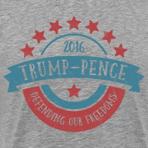 Trump Pence Freedom T-Shirts - Men's Premium T-Shirt