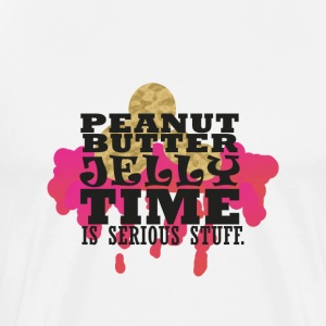 I love PB&J & Yes it is serious Classic T for Men - Men's Premium T-Shirt