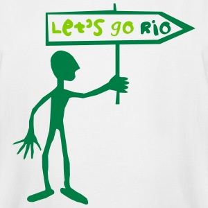 Let's go Rio - Men's Tall T-Shirt