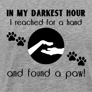 In my Darkest Hour - Men's Premium T-Shirt