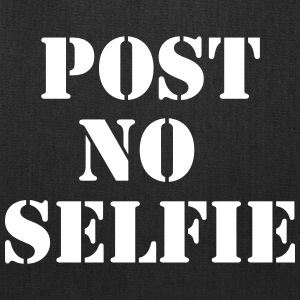 Post no selfie Bags & backpacks - Tote Bag