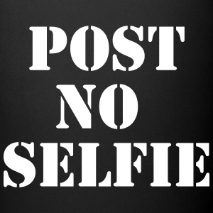 Post no selfie Mugs & Drinkware - Full Color Mug