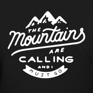 Calling Hiking Shirt - Women's T-Shirt