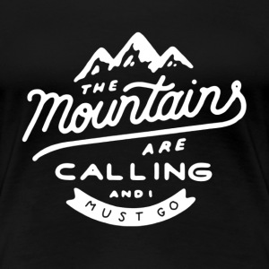 Calling Hiking Shirt - Women's Premium T-Shirt