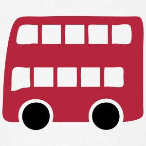 Double Decker London Red Bus T-Shirts - Men's T-Shirt