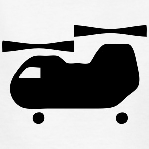 Double Rotor Helicopter Icon Kids' Shirts - Kids' T-Shirt
