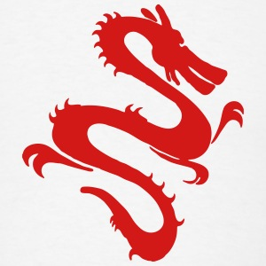 Asian Dragon Art T-Shirts - Men's T-Shirt