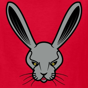 Angry Rabbit Face Kids' Shirts - Kids' T-Shirt