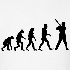 Evolution of Baseball T-Shirts - Men's T-Shirt
