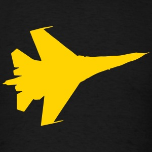 F16 Flying Jet Silhouette T-Shirts - Men's T-Shirt