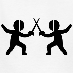 Fencing (Sword Fighting Sport) Kids' Shirts - Kids' T-Shirt
