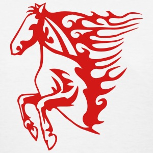 Flaming Horse T-Shirts - Women's T-Shirt
