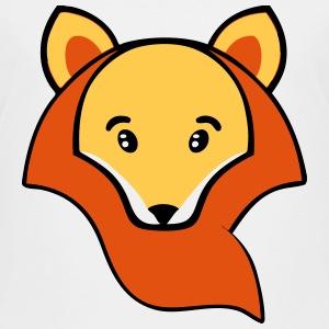 Cute cartoon fox face - photo#9