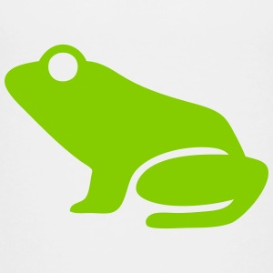 Frog (Leap Frog) Silhouette Baby & Toddler Shirts - Toddler Premium T-Shirt