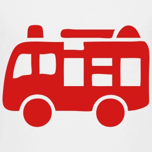 Fire Engine Truck Icon Baby & Toddler Shirts - Toddler Premium T-Shirt