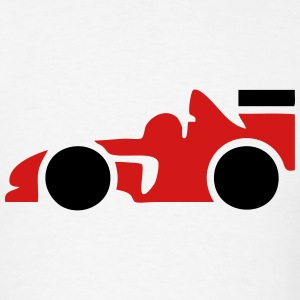 Formula One Race Car T-Shirts - Men's T-Shirt