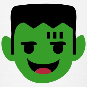 Frankenstein Cartoon Head T-Shirts - Men's T-Shirt