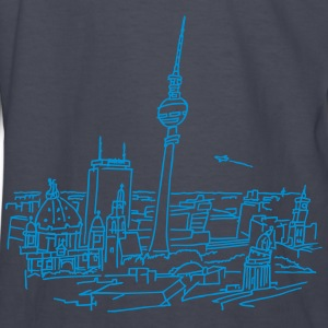 Panorama of Berlin Kids' Shirts - Kids' Long Sleeve T-Shirt