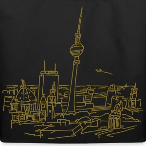 Panorama of Berlin Bags & backpacks - Eco-Friendly Cotton Tote