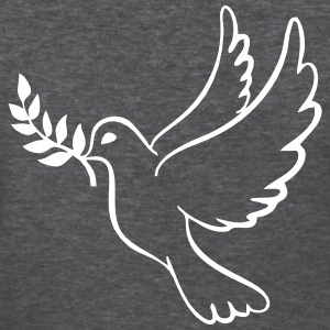 Peace Dove With Olive Branch T-Shirts - Women's T-Shirt