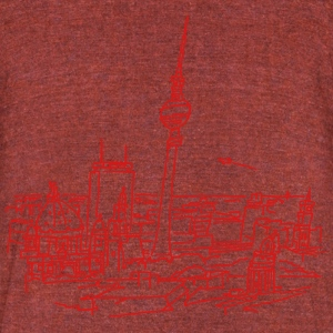 Panorama of Berlin T-Shirts - Unisex Tri-Blend T-Shirt