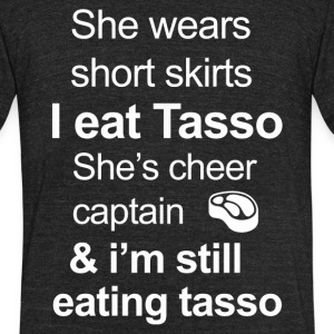 Funny Tasso Lover - Unisex Tri-Blend T-Shirt by American Apparel