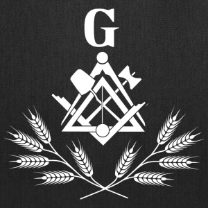 Freemasonry symbol white Bags & backpacks - Tote Bag