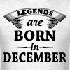 Legends are Born in December  T-Shirts - Men's T-Shirt