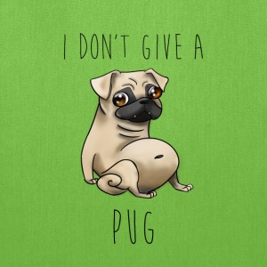I Don't Give a Pug! - Tote Bag