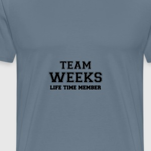 Team weeks T-Shirts - Men's Premium T-Shirt