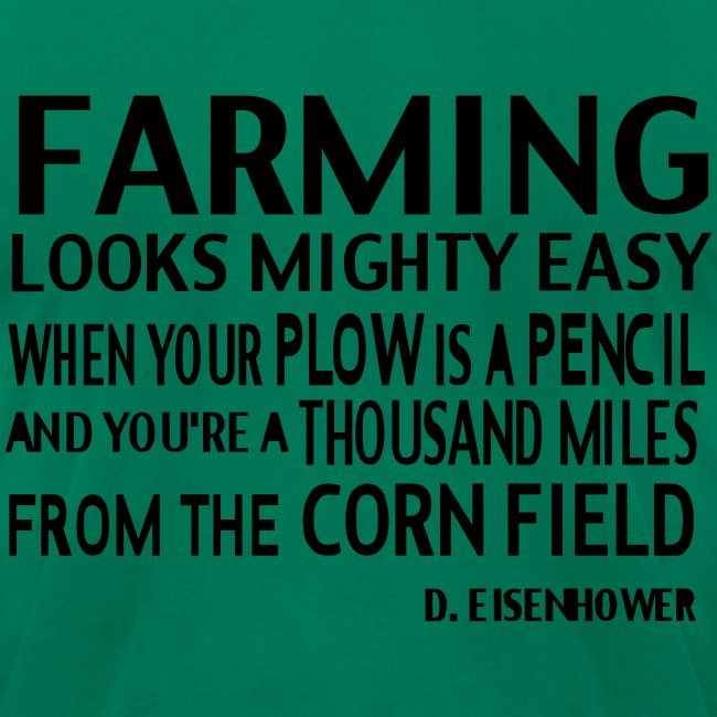 Farming D.Elsenhower