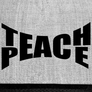 Teach Peace Sportswear - Snap-back Baseball Cap