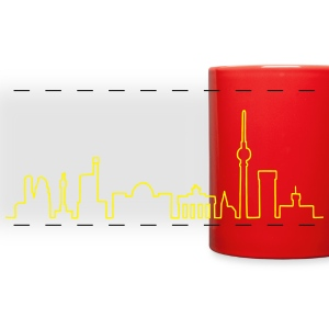 Skyline of Berlin Mugs & Drinkware - Full Color Panoramic Mug