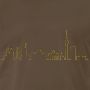 Skyline of Berlin T-Shirts - Men's Premium T-Shirt