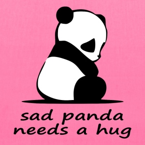 sad panda needs a hug - Tote Bag