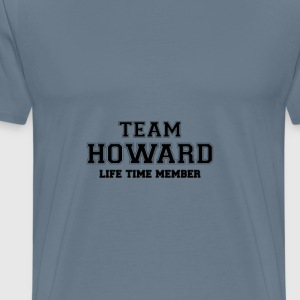 Team howard T-Shirts - Men's Premium T-Shirt