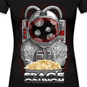 Space crunch astronaut T-Shirts - Women's Premium T-Shirt