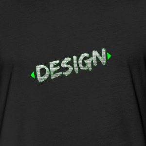 Design Tee - PandaGFX - Fitted Cotton/Poly T-Shirt by Next Level