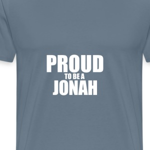 Proud to be a jonah T-Shirts - Men's Premium T-Shirt