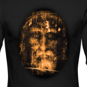 Jesus shroud of turin Long Sleeve Shirts - Men's Long Sleeve T-Shirt by Next Level
