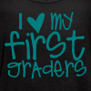 Love My First Graders | Teal - Women's Flowy Tank Top by Bella