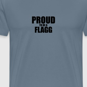 Proud to be a flagg T-Shirts - Men's Premium T-Shirt