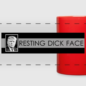 Trump: Resting Dick Face - Full Color Panoramic Mug