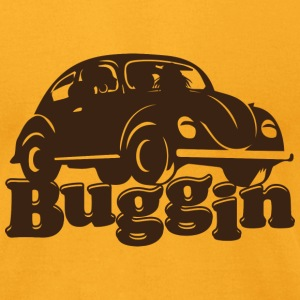 Buggin Retro Tee  - Men's T-Shirt by American Apparel