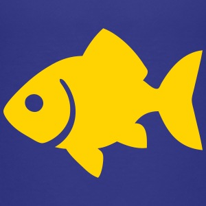 Goldfish Silhouette Baby & Toddler Shirts - Toddler Premium T-Shirt
