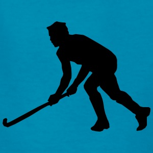 Playing Hockey Silhouette (Sport) Kids' Shirts - Kids' T-Shirt