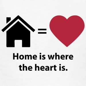 Home is where the heart is. (quote symbols) Kids' Shirts - Kids' T-Shirt