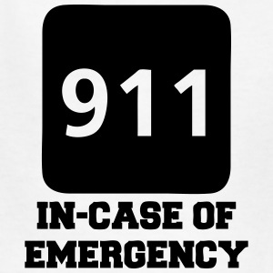 911 In-Case of Emergency (call) Kids' Shirts - Kids' T-Shirt