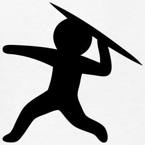 Javelin Throw (Stickman / Stickfigure) Kids' Shirts - Kids' T-Shirt